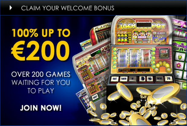 Join Casino Euro today and you can benefit from a bankroll boosting welcome bonus, as we will match your very first deposit by 100% up to €200.