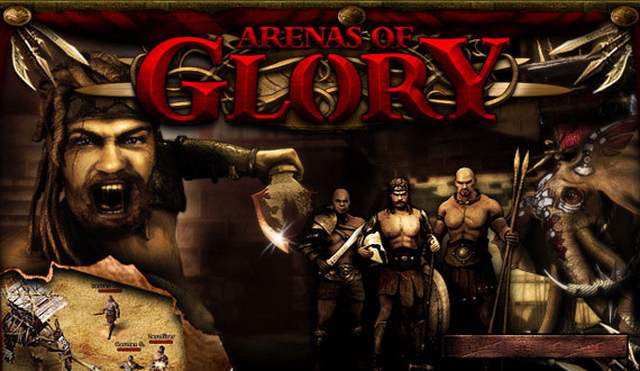 ARENAS OF GLORY - ANSWER THE CHEERING MASSES, GLADIATOR: FIGHT FOR GLORY AND RICHES!