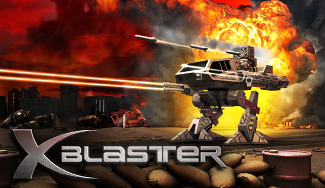 XBLASTER - COLOSSAL STEEL BATTLE BOTS FIGHT IT OUT IN THE ARENA!