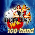 100 Hand Deuces Wild Video Poker