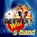 5 Hand Deuces Wild Video Poker