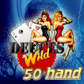 50 Hand Deuces Wild Video Poker