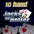 10 Hand Jacks or Better Video Poker