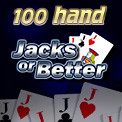 100 Hand Jacks or Better Video Poker