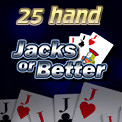 25 Hand Jacks or Better Video Poker