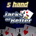 5 Hand Jacks or Better Video Poker