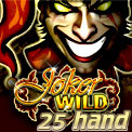25 Hand Joker Wild Video Poker
