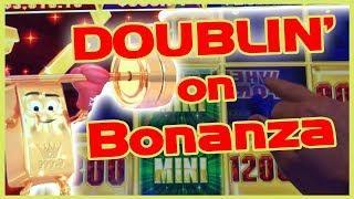 •Back-2-Back BONUSES • DOUBLIN' on GOLD BONANZA• • Slot Machine Pokies w Brian Christopher