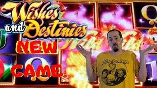 NEW Game• •Wishes and Destinies• By Bluberi Live Play Free spins