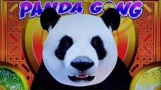 NEW FUN GAME!  PANDA GONG SLOT POKIE + DRAGON DRUM SLOT MACHINE BONUSES - PECHANGA CASINO