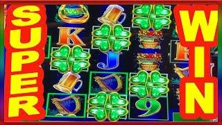** SUPER WIN ** RARE 5 SYMBOL TRIGGER ** LUCKY O LEARY ** SLOT LOVER **