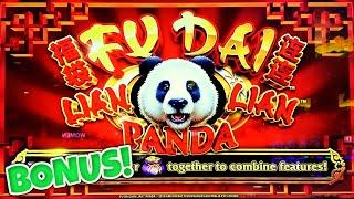 Fu Dai Lian Lian Panda Slot Machine ⋆ Slots ⋆️HIGH LIMIT MAX BET $26 Bonus Round Casino