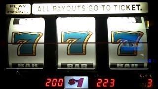 FLAMING 7's Jackpot@Mirage