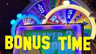 Wheel of Fortune Triple Extreme Spin BONUS Wheel Spin max bet $3.00 Slot Machine