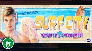 Surf City slot machine, bonus