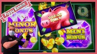 ★ Slots ★Jackpot Mini & Minor On Piggy Bankin' Slot Machine★ Slots ★