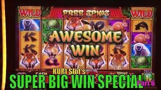 •SUPER BIG WIN• KURI Slot's Super Big Win Special Part 6 •4 of Slot Bonus games• $2.00~$3.00 Bet•彡
