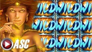 •$100 DOUBLE OR NOTHING• COYOTE QUEEN (Aristocrat   Gimmie Games) Slot Machine Bonus