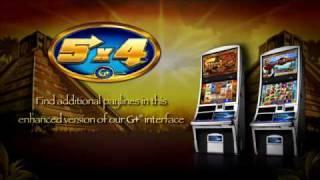G+® 5x4 Slot Machines By WMS Gaming