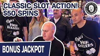 ★ Slots ★ CLASSIC Slot Action! ★ Slots ★ HUGE $50 SPINS on Duck Stamps