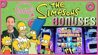 • The Simpsons in 360• • Up Your Resolution! • Slot Machine at Cosmopolitan, Las Vegas