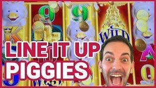 •  WINNING w Slot Traveler & Windy City Frenzy in Vegas • Gold Bonanza & 8 Petals Slot Machines