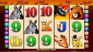 MR CASHMAN AFRICAN DUSK Video Slot Casino Game with a CASHMAN CHANGES REELS BONUS • SlotMachineBonus