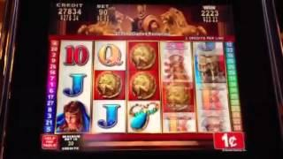 Roman Tribune-Konami slot machine bonus win II with retriggers!