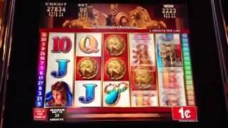 Roman Tribune-Konami slot machine bonus win II with retriggers!