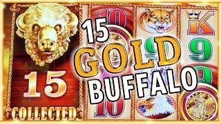 • Joined the 15 GOLD Buffalo Club! • • & MEGA Meltdown • Slot Machine Pokies w Brian Christopher
