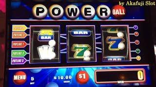 Free Play $400•POWER BALL Dollar Slot Machine Max Bet $5 Bonus Win San Manuel Casino Akafujislot