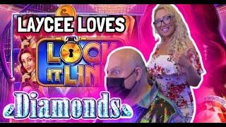 ⋆ Slots ⋆  Bonus Within a Bonus! ⋆ Slots ⋆ Lock it Link Diamonds Jackpot in Punta Cana