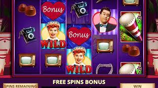 I LOVE LUCY Video Slot Casino Game with an I LOVE LUCY FREE SPIN BONUS