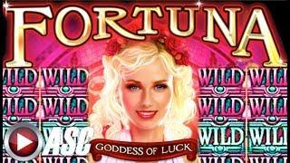 "•FORTUNA & INCA GODDESS• WILDS! WILDS! ""AWESOME WIN"" Slot Machine Bonus (EVERI)"