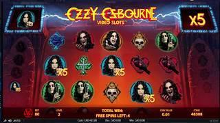 HUGE WIN! Ozzy Osbourne Online Slot