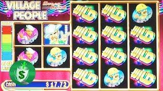 Village People Money Burst slot machine, bonus