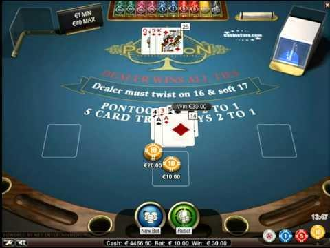 Pontoon BlackJack - The Virtual Games