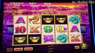 Free Play $270•Fortune King Deluxe Slot machine, 50 Dragon,Timber Wolf San Manuel Casino Akafujislot