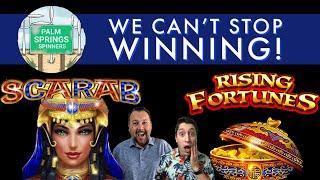 Rising Fortunes & Scarab Slots - WE CAN'T STOP WINNING on These Machines!