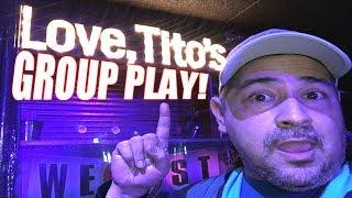 Live Play, Group Play at Casino Arizona!   Slot Machines