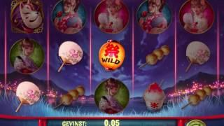 Matsuri Spillemaskine med free spins og bonusrunde