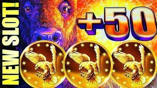 ⋆ Slots ⋆NEW SLOT!⋆ Slots ⋆ BUFFALO CHIEF! ⋆ Slots ⋆MORE EAGLE COINS PLEASE! Slot Machine (Aristocrat Gaming)