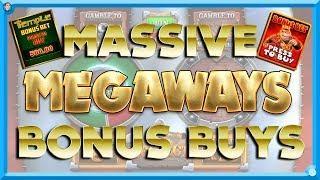 MASSIVE £500 Megaways BONUS BUYS!