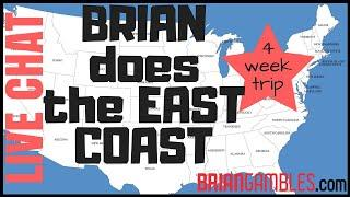 Get ready East Coast, Brian is coming for you! •LIVE STREAM CHAT w Brian Christopher