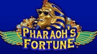 HIGH LIMIT Good Win $20 Bet Pharaohs fortune Slot machine free spin bonus