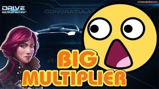 Massive MEGA Win on DRIVE!!