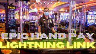 ⋆ Slots ⋆Epic Big $25 Bet and a Epic Big Hand Pay WIN - Slot Machine Lightning Link