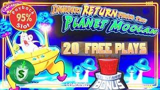 95% Invaders Return from the Planet Moolah slot machine