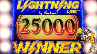 •HUGE WINS! 5 BONUS SYMBOL• LIGHTNING LINK slot machine and more slot BONUS WINS!