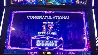 My first ever bonus on Its Magic by IGT £5 max bet bonus Casino Slots big win